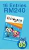 Picture of KIDZOOONA PREMIUM PASSPORT COUPON (16 Entries)