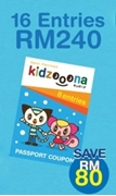 Picture of KIDZOOONA PREMIUM PASSPORT COUPON (16 Entries)