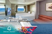 Dream Cruise - Oceanview Stateroom ~ Penang Phuket Cruise
