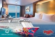 Dream Cruise - Genting Dream - Balcony Stateroom