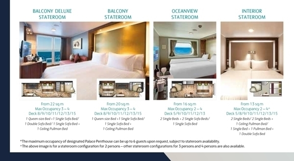 Dream Cruise - Genting Dream -Stateroom
