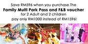 TARH Family Multi Park Pass