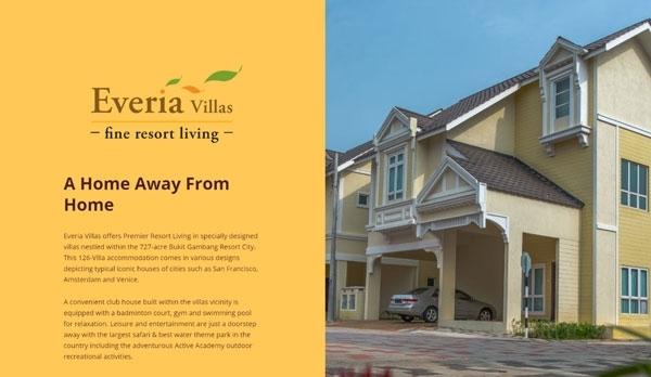 Bukit Gambang Resort City - Everia Villas Resort
